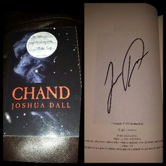 "Signed ""Chand by Joshua Dall"""