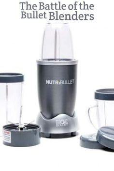 Bullet-style blenders have become very popular in the last few years. Their unique design makes them a highly practical solution for those who want more blending power, and who don't mind a smaller blender cup. They're a wonderful choice for smoothies, shakes, juices, and even homemade jams and jellies.