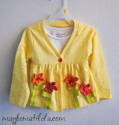 Spring Sweater Refashion