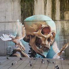 street art X A V