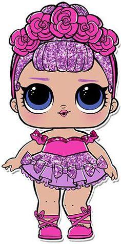 Tube Applique Lol Überraschung (Party Dekoration) - How To - l.l - - Bilder - Lol Surprise Lol Doll Cake, Doll Party, 6th Birthday Parties, Surprise Birthday, 4th Birthday, Lol Dolls, Baby Dolls, Little Girls, Hello Kitty