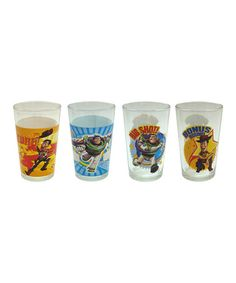 All preschoolers love Toy Story!! My grandson does and he's 4. Take a look at this Toy Story Juice Glass Set by Zrike Brands on #zulily today!
