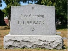 funny tombstones | That Is What You Call Sound Sleep
