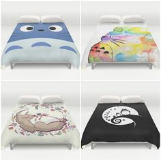 Totoro Duvet Covers from Society6 - So Awesome.