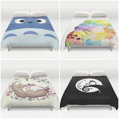 Totoro Duvet Covers