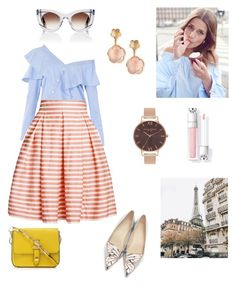 For girls who like Parfum by DKNY by iran-88 on Polyvore featuring polyvore, fashion, style, FAIR+true, Rumour London, Sophia Webster, Pasquale Bruni, Olivia Burton, Thierry Lasry and clothing