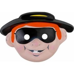 McDonald's Hamburglar PVC Mask