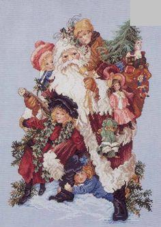 Feliz Natal: PAI NATAL E OS AMIGOS