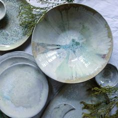 New pieces in soft crystals with a hint of something mystic. www.meadowceramics.com