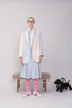 Thom Browne Resort 2019 Fashion Show Collection: See the complete Thom Browne Resort 2019 collection. Look 21