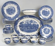 Antique Dishes | Romantic England by Wedgwood at Replacements, Ltd.