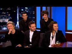 One Direction- Jimmy Kimmel interview November 2014 Full <<<< finally !