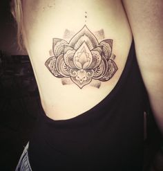 My lotus mandala tattoo