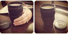 Adorable Camera Lens Mug ~  Kristine's Keepsakes  www.kristineskeepsakes.com