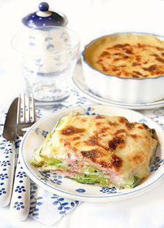 Parmigiana bianca di zucchine con besciamella, caciotta di capra e prosciutto cotto | dolci a go go!!! | Bloglovin