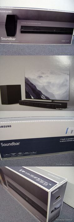 Home Speakers and Subwoofers: Samsung Hw-K850 Home Theater Sound Bar Wireless Sub Woofer Dolby Atmos Hwk850 Za -> BUY IT NOW ONLY: $709.95 on eBay!