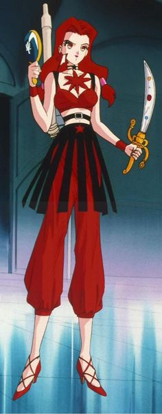 Sailor Moon - Death Busters / Witches 5 Eudial