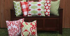 Add a finishing touch to any room in your home for the Holidays with a 16x16 Pillow Cover!