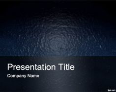 Plastic PowerPoint Template is a free template with blue plastic image background for effective presentations in Power Point