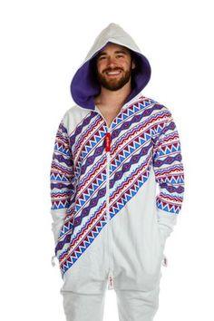 5daa8cf1e La Flama Blanca Guys Onesie - Shinesty Mens Onesie, Party Suits, Patriotic  Outfit,