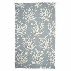 Sea Coral Dhurrie Rug - Venetian Blue | Area-rugs | Panels-and-rugs | Decor | Z Gallerie