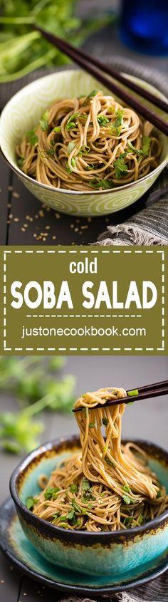 "Soba Salad | Easy Japanese Recipes at <a href="""" rel=""nofollow"" target=""_blank""></a>"