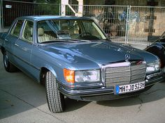 Mercedes W116 450SE by jenskramer, via Flickr