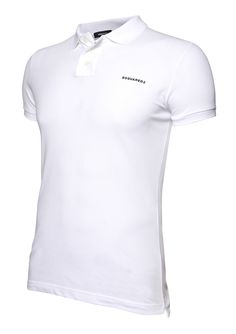 DSquared White Polo shirt from Filati
