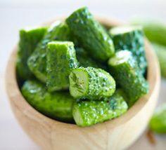Быстро Засоленные Огурцы Для Пикника (Easy Picnic Pickles)