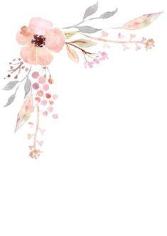 Watercolor Cards, Watercolor Flowers, Watercolor Texture, Nursery Wall Art, Nursery Prints, Nursery Decor, Flower Art Drawing, Unicorn Wall Art, Flower Phone Wallpaper