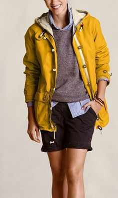 A sunny jacket for rainy days ... wish it didnt cost so much (kind of rains on my parade)