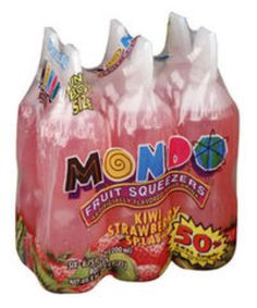 I'm learning all about Mondo Fruit Squeezers Kiwi Strawberry Splash Fruit Drink at @Influenster!