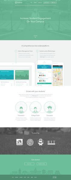 Involvio Marketing Site by James Hobbs for Octopus Creative