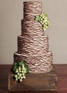 Chocolate Wedding Cake by Cheryl Kleinman Cakes, Betty Bakery, Boerum Hill, Brooklyn