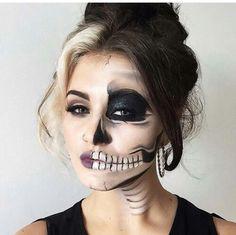 Halloween makeup                                                       …