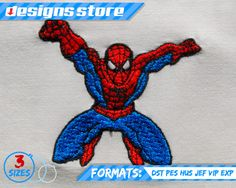 SPIDERMAN machine embroidery design 3 sizes spiderman embroidery spiderman spiderman design machine embroidery embroidery design Super Hero Superhero Marvel justice league superman batman comic SuperHero clipart 2.50 EUR #goriani