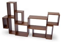 Unique Shelving Design with the Interesting Decoration : Modular Shelves And Shelving