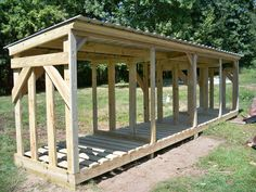 This new shed design offers large-capacity along with the expected high-endurance, high-quality materials of all Glenn's Sheds designs.