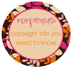 If you're a mom running a business, understanding copyright laws is a must!  Learn how to protect your work and make sure you're not violating the work of others at http://businessamongmoms.com