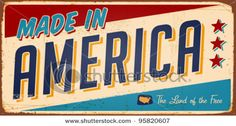 made in America....