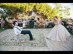 Der magischste Hochzeitstanz aller Zeiten: Dieses Brautpaar ist reif für Hollywood!