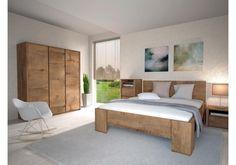 Přirozeně :) Ložnice Montana 2 K Om, King Size Bed Frame, Modern Bedroom Furniture, High Quality Furniture, Bedroom Sets, Montana, Home Goods, Modern Design, Sweet Home