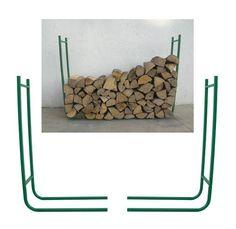 Portalegna a due elementi per legna - PRIRB095 - Giardino, piscina