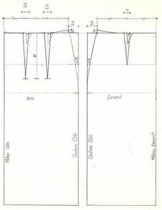 Comment créer sa jupe droite à ses mesures - Base - LES ATELIERS DE CLARAINES