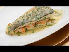 Bechamel, Fresh Rolls, Tapas, Sandwiches, Cooking Recipes, Fish, Meat, Ethnic Recipes, Yummy Yummy