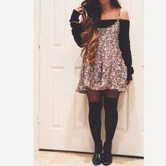 meganwinner Transform your favorite summer dress for #Fall