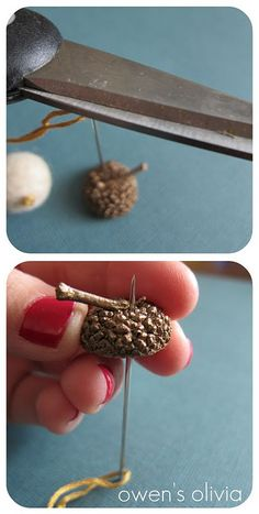 DIY Felt Acorns | Guest Post - Whipperberry