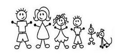 stick people family - Google Search