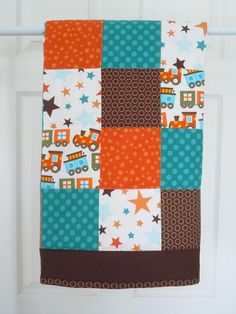 Stars and Trains Quilt
