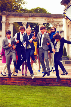 Tatler Magazine Shoot with One Direction